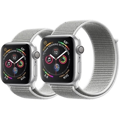 0b7bfb7a939 Apple Watch Series 4-44mm-Silver Alum... ₦169