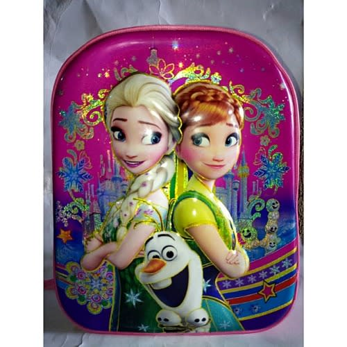 Frozen 3d Graphic Girls School Bag