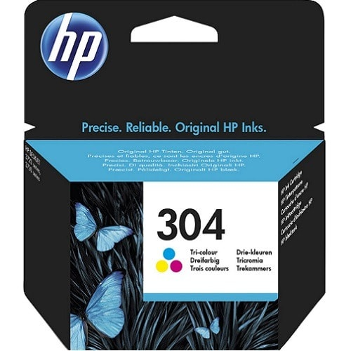 304 Tri-color Genuine Ink Cartridge