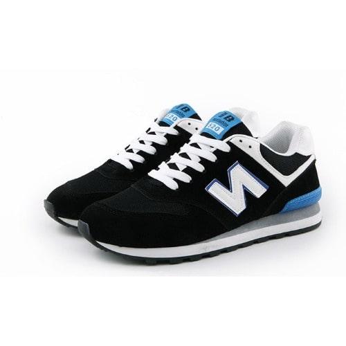 ef34bb176ceb8 Trendy Suede   Mesh Sneakers - Black .