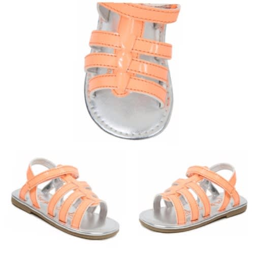 George Girls' Coral Bright Sandals