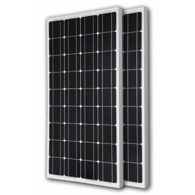 2 X 24v/300 Watts Monocrystalline Solar Panels - 600 Watts
