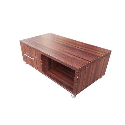 Coffee Table With Drawer - Brown