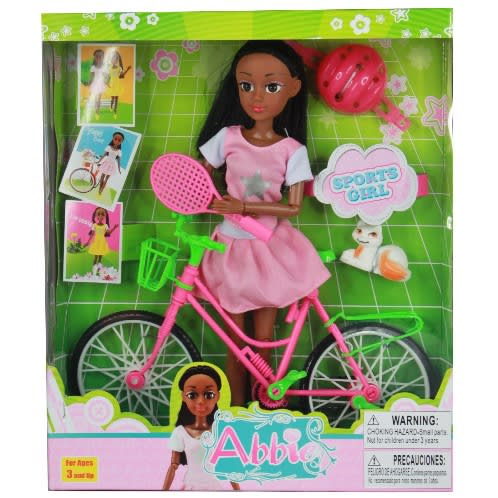 Black girls with toys