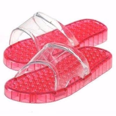 1a4c8ab3788c Acupuncture Massage Slippers - Red