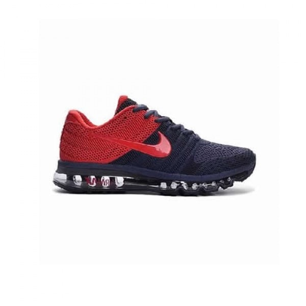 a1dcc4bdb67 Nike Airmax 2017 Model Running Shoes - Navy Blue   Red