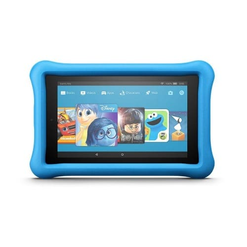 """All-New Fire 7 Kids Edition Tablet - 7"""" Display - 16 GB - Blue - Kid-Proof Case"""