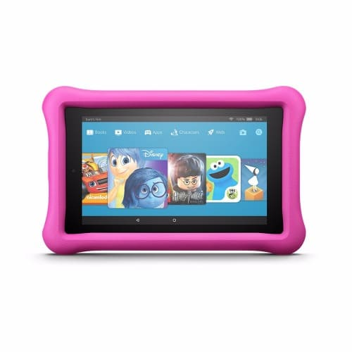 """All-New Fire 7 Kids Edition Tablet - 7"""" Display - 16 GB - Pink- Kid-Proof Case"""