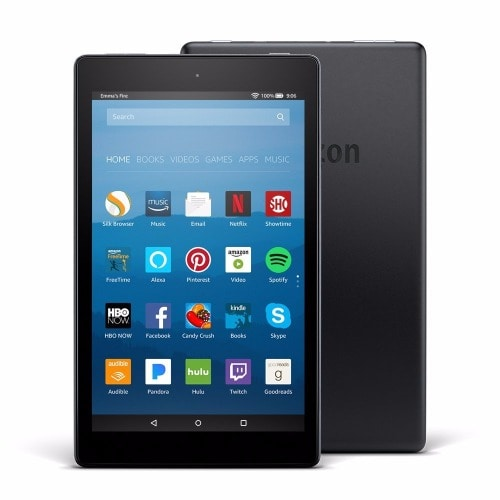 All-New Fire HD 8 Tablet with Alexa, 8 inch HD Display, 16 GB - Black with Special Offers