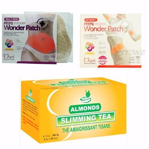 Almonds Slimming Tea Upper Lower Body Slimming Patch