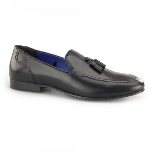 861fae31a1073 Ampthill Leather Men's Tasseled Loafers - Black