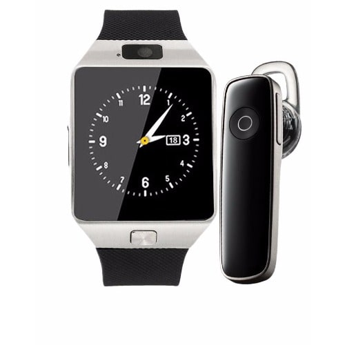 cc0a5f56f21 Android Smart Wristwatch+ Bluetooth Headset - Black