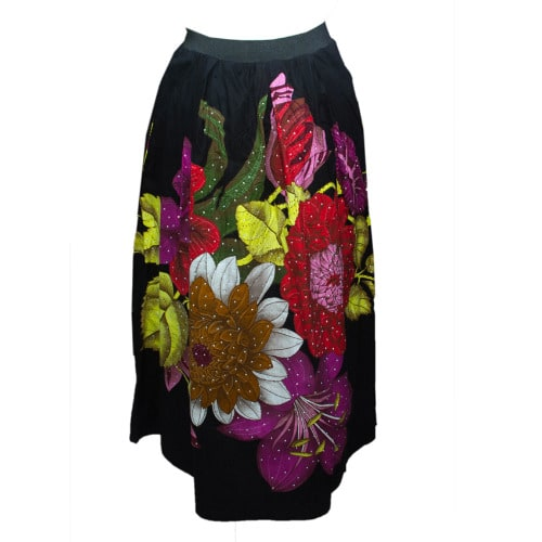 /A/n/Ankara-Flowery-Skirt-with-Stones---Black-7898398_1.jpg