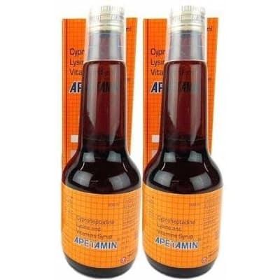 Apetamin Weight Gain Syrup - 2 Bottles