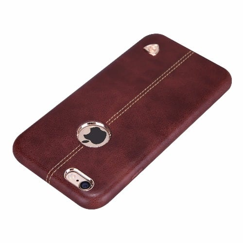 brand new a37d0 fd162 Apple iPhone 6/6S Back Cover - Brown - Englon Series