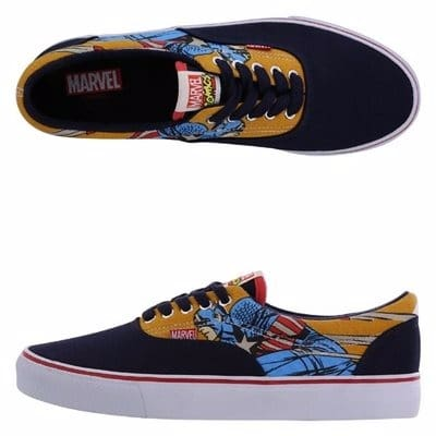 8482cc533f5 Boys Sneakers   Athletic Shoes.  A v Avengers -Captain-America-Rio-Sneaker-6668035
