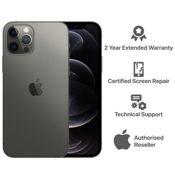 iPhone 12 Pro - 6GB -128GB- Graphite.