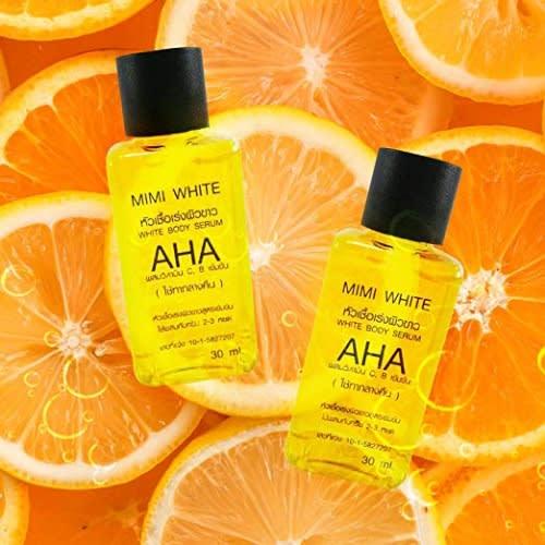 Mimi White Aha White Body Serum - 2 Packs - 30ml