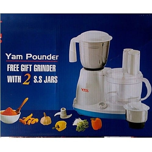 Yam Pounder Food Processor & Grinder