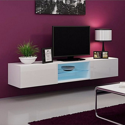 Haye LED Wall Mount TV Stand