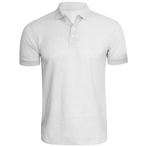 1f9b6b0c Quick Maxx Plain Polo Shirt - White | Konga Online Shopping