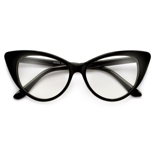 5431382bf47 Cat Eye Glasses- Black