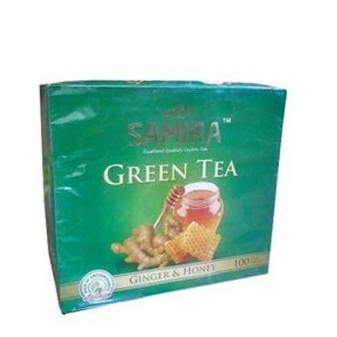 Green Tea Ginger & Honey - 100 Teabags.
