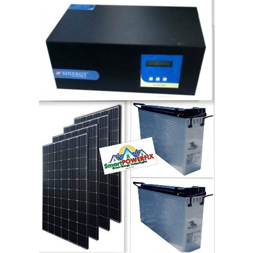 Solar Powered 2.5kva Inverter Installation