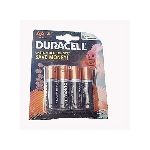AA Batteries - 4 Pieces