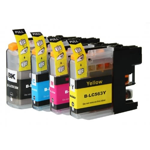 4pcs Refillable Ink Cartridge - j2310/j2510/3520/j3720