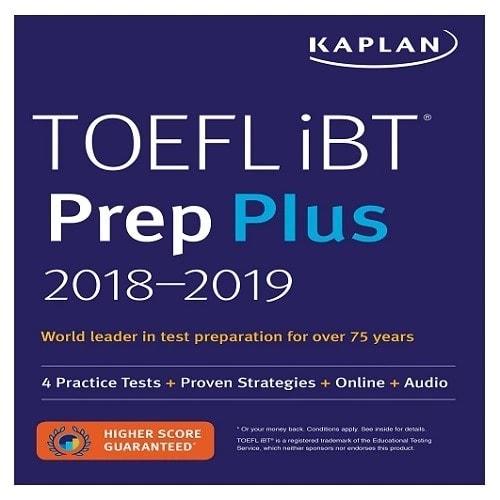 Kaplan Ibt Prep Plus 2018-2019