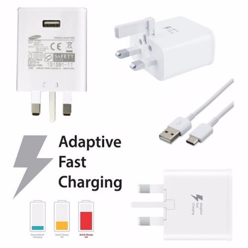 Samsung Fast Charger (adapter + Cable)