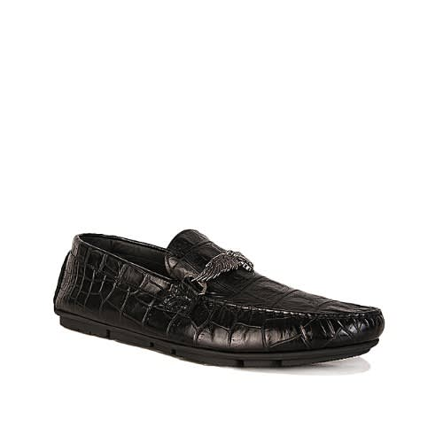 size 40 d0e44 a20ee Men's Sold Crocodile Leather Shoe With Bit
