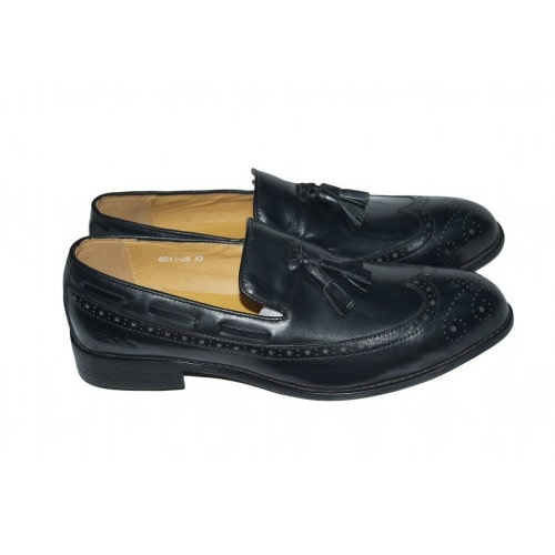 716bc6eb116488 Leather Men Formal Shoes Genuine Leather Exclusive (black)   Konga ...