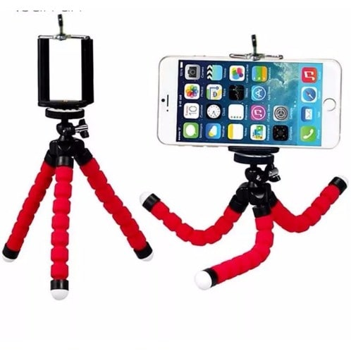 Mini Portable Flexible Sponge Octopus Tripod Bracket Stand