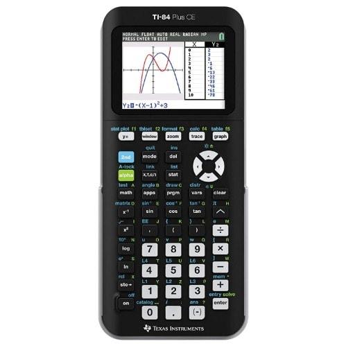 TI-84 Plus CE Graphing Calculator – Black