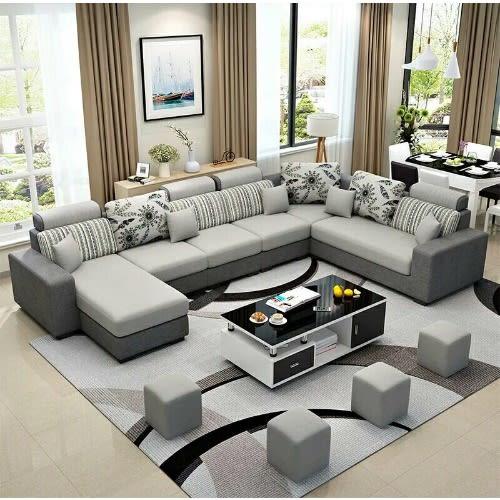 Alva Living Room Sectional Sofa + Centre Table