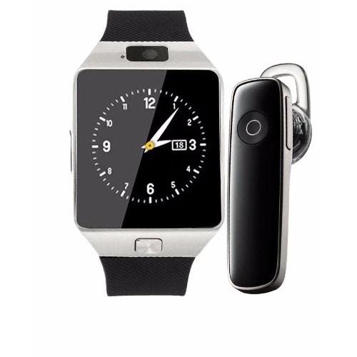 Smart Wrist Watch + Bluetooth Headset