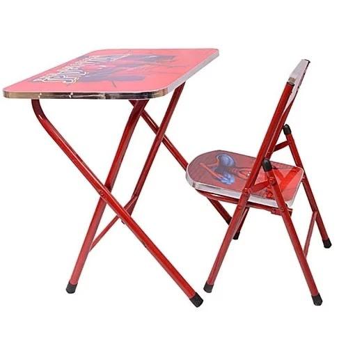 Surprising Spiderman Foldable Study Table Chair Evergreenethics Interior Chair Design Evergreenethicsorg