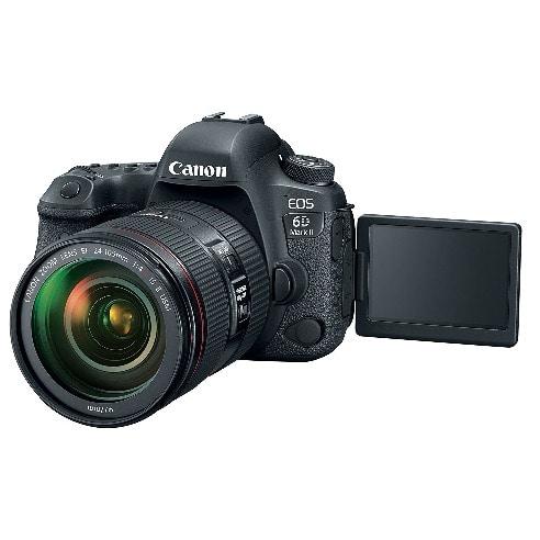 Canon Eos 6d Mark Ii Digital Slr Camera Body - Wifi Enabled