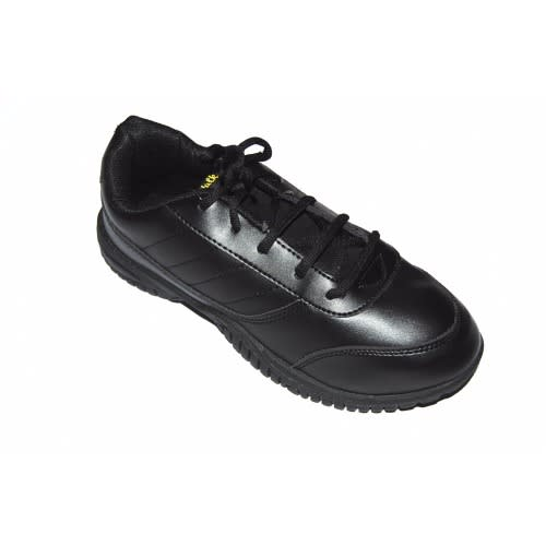 Big Boys Durable Laceup School Shoe - Black