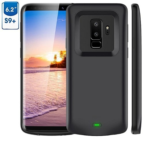 competitive price f361a 5f8f2 Galaxy S9 Plus Battery Case, 5200mah Vproof Portable Charger Case Extended  Charging Case