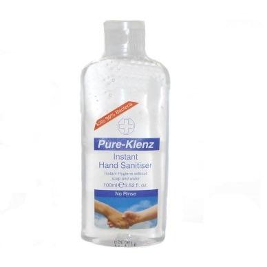 Pure-klenz Instant Hand Sanitiser - 100ml.