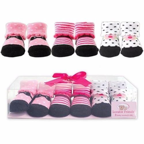Luvable Friends Baby Booties \u0026 Socks