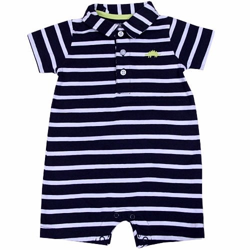 64fb30dc7c120 Carter's Baby Boy Striped Polo Romper | Konga Online Shopping