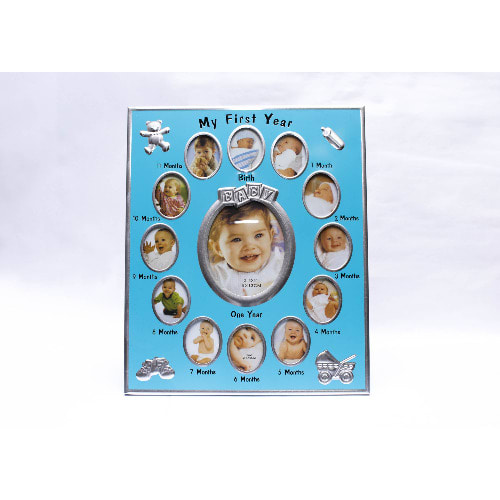 Baby First Year Picture Frame Blue Konga Online Shopping