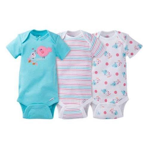 e9c1ad9b3 Baby Girl Onesies Bodysuits Variety - 3-Packs | Konga Online Shopping