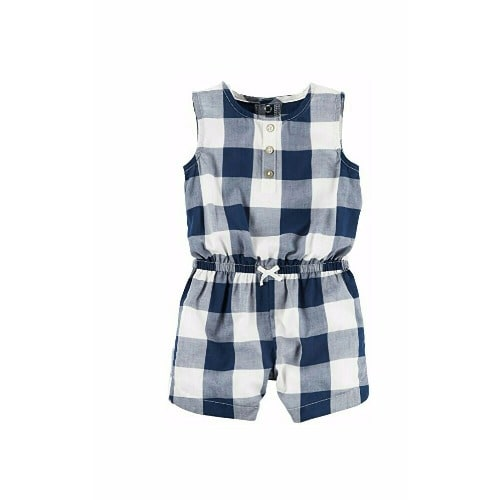 be3a2a6ad51 Carter s Baby Girl Romper - Blue