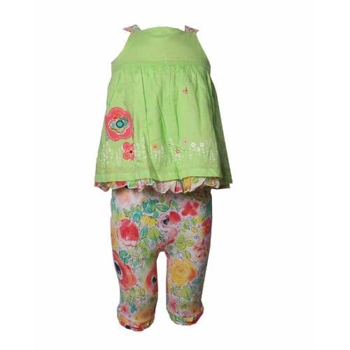81ba5ef06 Baby Girl's 2-Piece Set Top and Leggings Set - Multicolour
