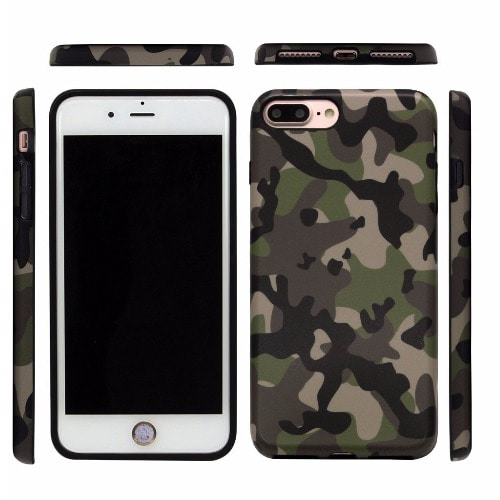 the latest 77695 73210 Back Case For iPhone 8+ - Camo